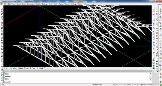 FRAMECAD-Structure-3D-view